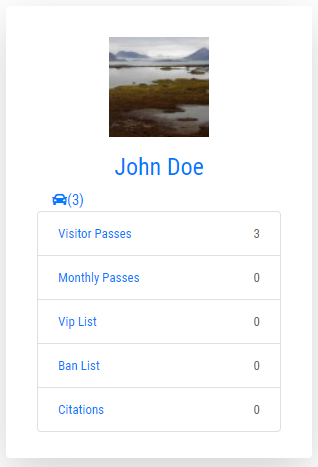 Plate Lookup / Search Parkers Feature